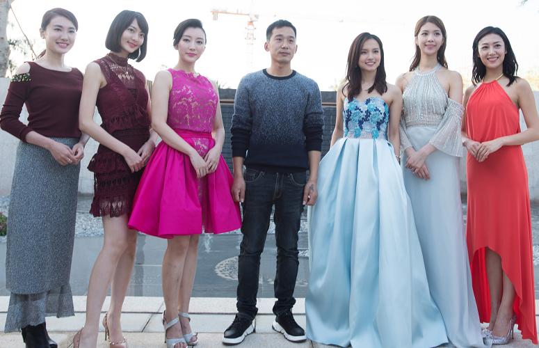 2018年冠亚季军及TVB艺人大合影
